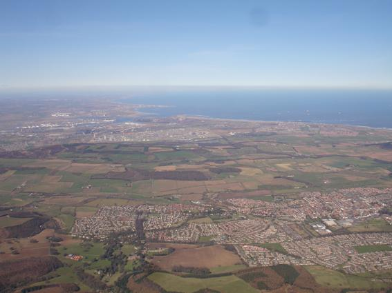 photo of the coast on glide from captain cooks
