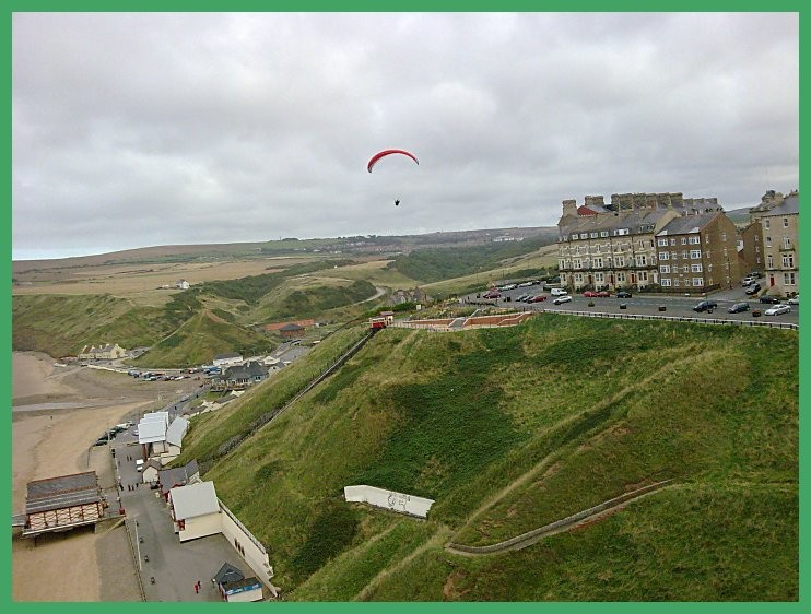 14/09/09 Taken before flying up the coast to Staithes